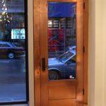 copper clad door