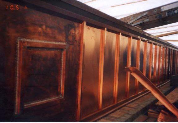 Cranbrook Copper Soffit